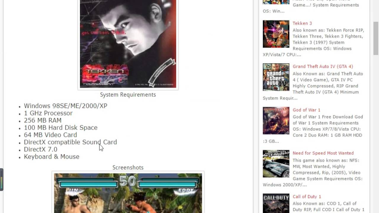 How to download tekken tag tournament 2 for pc free 2017 youtube.