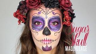 J-3 avant Halloween : Tête de mort mexicaine