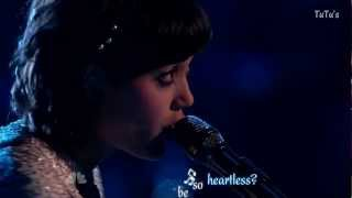 Heartless - Dia Frampton (The voice HD performance) - Karaoke Effect.mkv