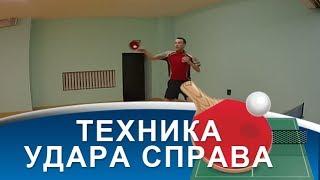 ТЕХНИКА УДАРА ПО СВЕЧЕ в НАСТОЛЬНОМ ТЕННИСЕ (Как правильно делать удар настольного тенниса по свече)