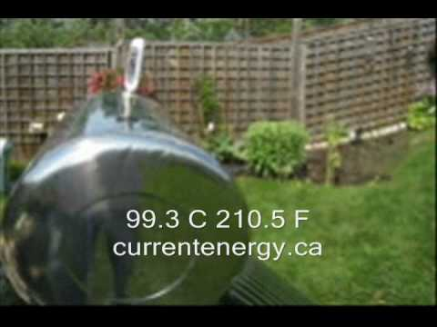 CURRENTENERGY.CA - LS60 (99.3 C 210.5 F) - Evacuated Tube Solar Collector System - Barrie ON Canada