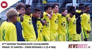 Le FC Nantes, vainqueur pour la première fois du trophée U13 Elite de Quimper