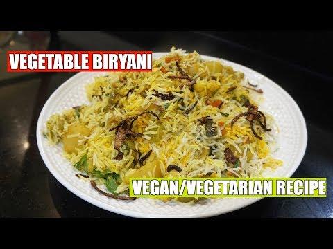 Vegetable Biryani - How to Make Biryani - Veg Biryani - Vegetarian Biryani - Easy Homemade Biryani