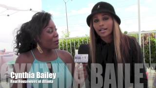 Valencia King's interview with Cynthia Bailey RHOA