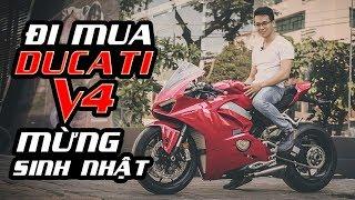 PKL - Mua xe mô tô hơn 800 triệu để mừng sinh nhật (Buying Ducati V4 for birthday celebration)