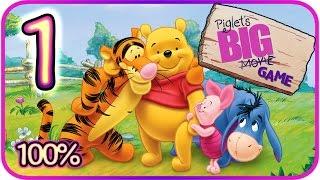 Piglet's Big Game Walkthrough Part 1 (PS2, Gamecube) Pooh's Dream [100% - HD]