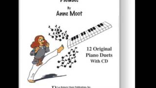 Jazzy - A Selection from Get Off Of My Note, Get Out of My Way! - 12 Piano Duets by Anne Moot