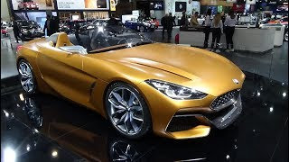 Concept BMW Z4 - Exterior And Interior - Auto Show Brussels 2018