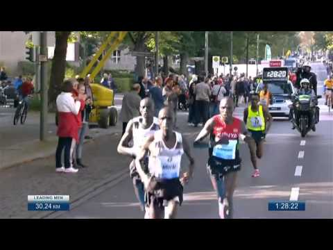 Berlin Marathon 2014 - WORLD RECORD - 02:02:57 by Dennis Kim