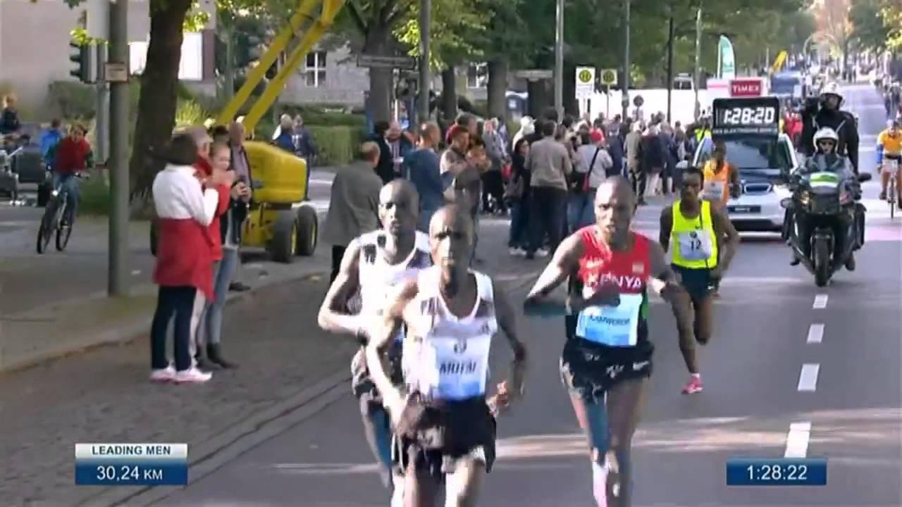Berlin Marathon 2014 WORLD RECORD 02:02:57 by Dennis Kimetto