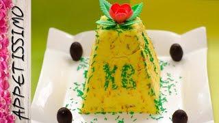 Творожная пасха с цукатами и шоколадной начинкой / Paskha (Russian Easter dish)