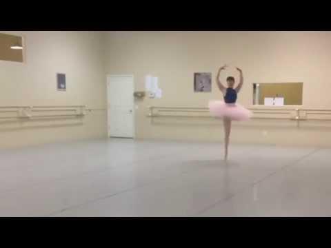 """""""Gamzotti Variation"""" Choreography by Marius Petipa"""