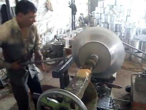 Aluminium spinning workshop