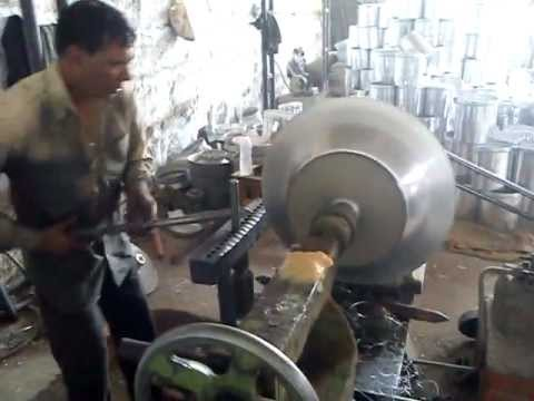 Aluminium spinning workshop