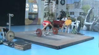 чемпионат Украины 2011 г тяжелая атлетика юноши Славутич 1