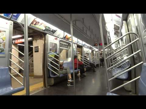 NYC Subway Special: On-Board R160 # 8625 On The (M) From Chambers St To Marcy Ave (OPTO)