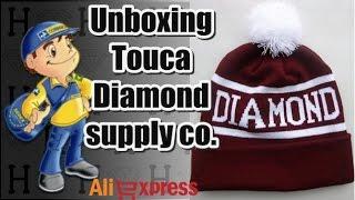 #4 Unboxing Touca Diamond Supply - Aliexpress
