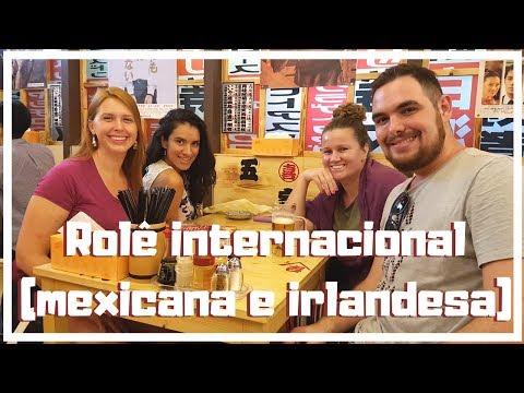 Rolêzinho com uma mexicana e uma irlandesa em Shanghai | Canal Mundo ao Vivo | China - Vlog 08