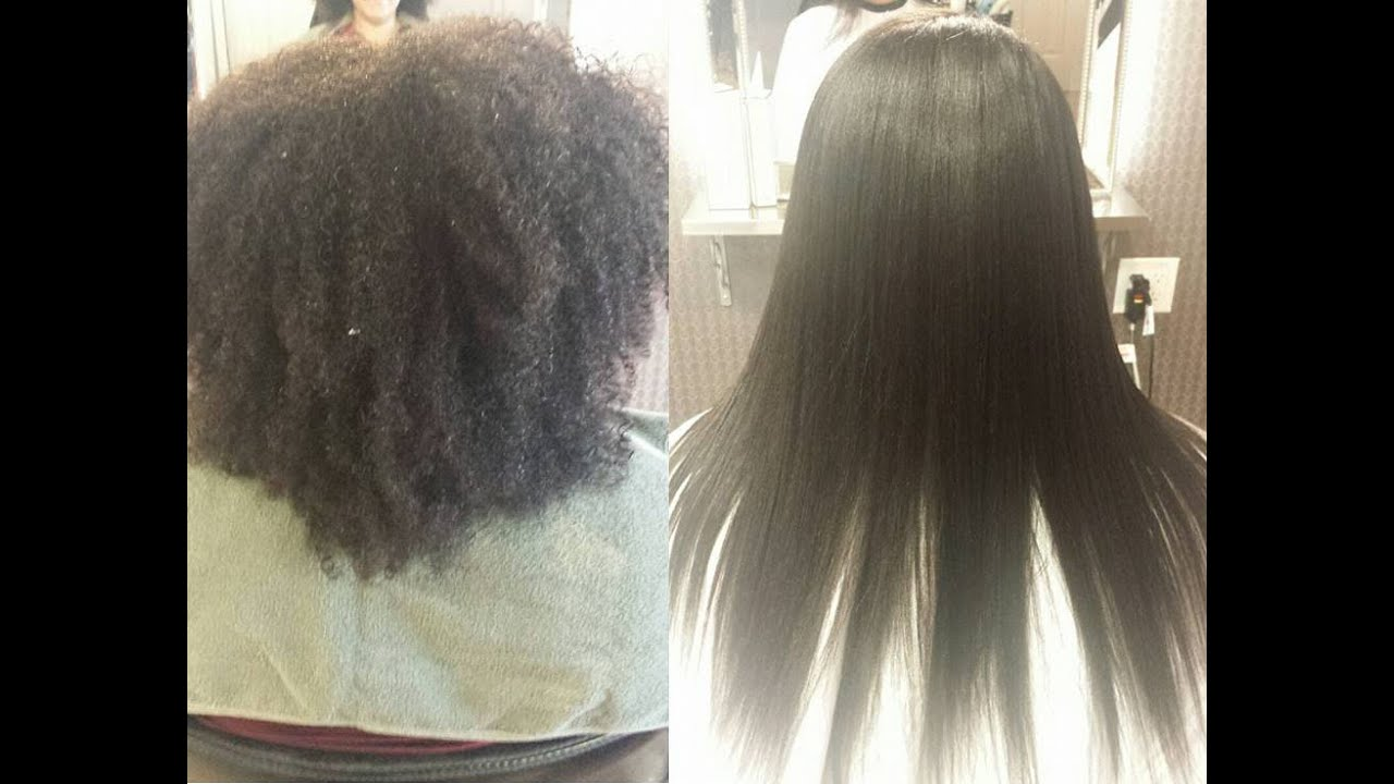 Japanese Hair Straightening Super Kinky Hair Momo Hair
