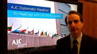 "Jason Isaacson ""Live From..."" The AJC Diplomatic Marathon"