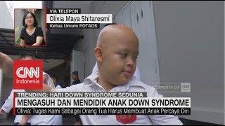 Semangat Anak Down Syndrome.