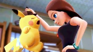 Detective Pikachu All Cutscenes Movie (Video Game)