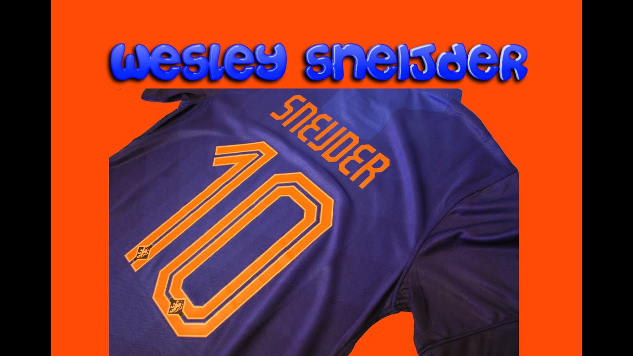 check out df70e a660c Netherlands Away 2014 kit Sneijder