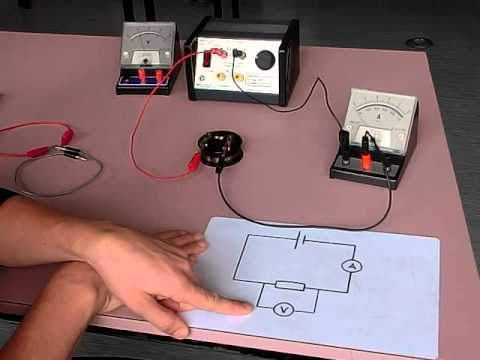 setting up ohms law circuit