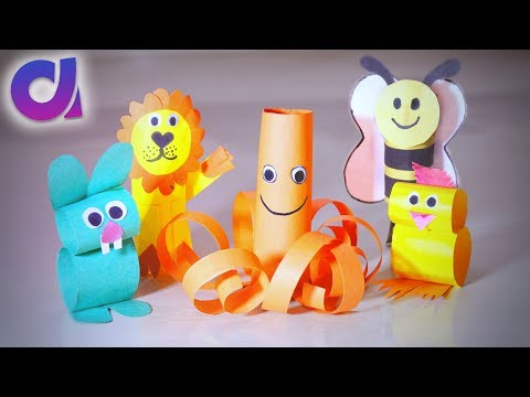 5 COOLEST PAPER TOYS FOR KIDS you can make at home   Artkala 209