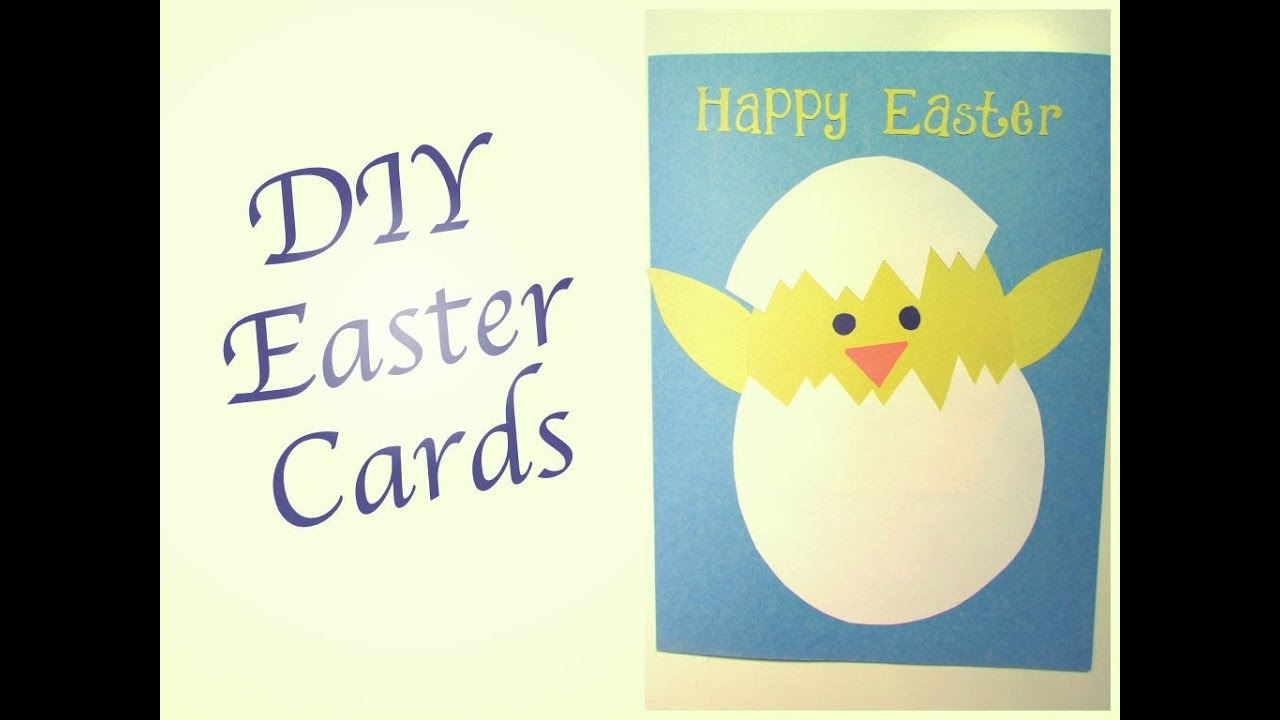 DIY Easter Cards – Easter Cards