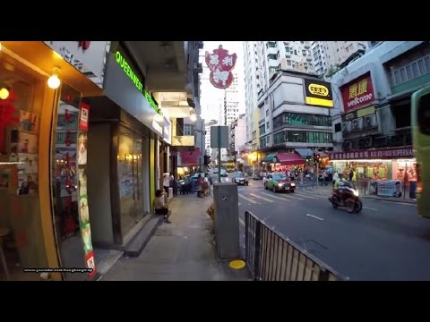 【Hong Kong Walk Tour】Queen's Road 皇后大道 in a weekday evening 6:00 pm
