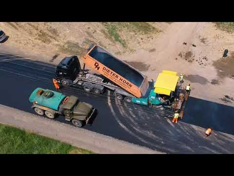 Ремонт дорог в селах Украины 2019. Ремонт дорог в Украине 2019.