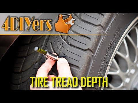 How to Measure Tire Tread Depth & Why it's Important