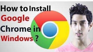 How To Install Google Chrome 2016
