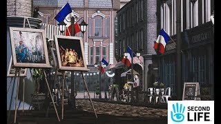 Second Life Destinations - Vive La Paris