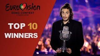 TOP 10 last Eurovision WINNERS [2008/2017]