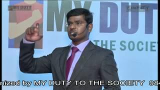 Presentation Skills by KVN KARTHIK at Khammam IMPACT 2014