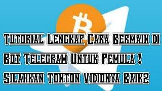Dapat BITCOIN Gratis Dari Bot Telegram Untuk Newbe