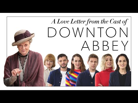 A Love Letter to Maggie Smith from the Downton Abbey Cast | Harper's BAZAAR