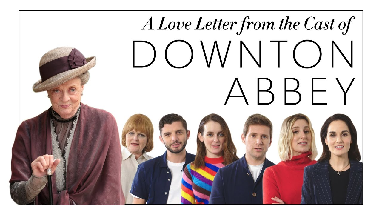 The Downton Abbey Cast Writes a Love Letter to Maggie Smith | Harper's BAZAAR