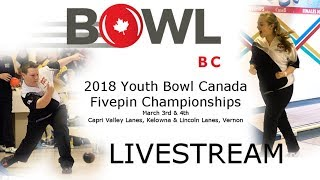 2018 YBC Fivepin Championships (Day 1)