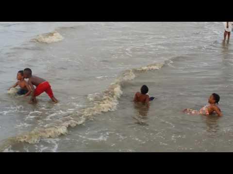 One of my trip to Guyana Seawall(4)