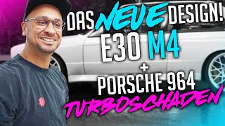 JP Performance - Das neue Design! | BMW E30 M4 + Porsche 964 Turboschaden