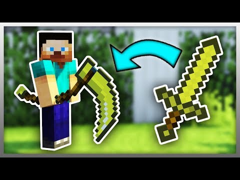 ✔️ Upgrade Your WEAPONS In Minecraft!
