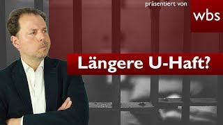 Lange U-Haft wegen Überlastung der Gerichte - Ist das legal? | Rechtsanwalt Christian Solmecke