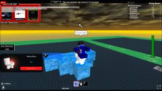 ROBLOX Stamper Tool Flying Glitch