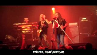 LYNYRD SKYNYRD - Simple Man_Warsaw (lyrics)