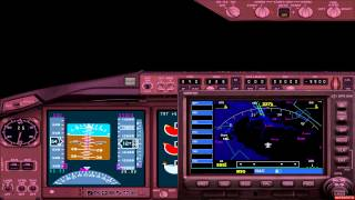 Boeing 767 Japan Airlines Flight From Taipei To Singapore Landing FS2004