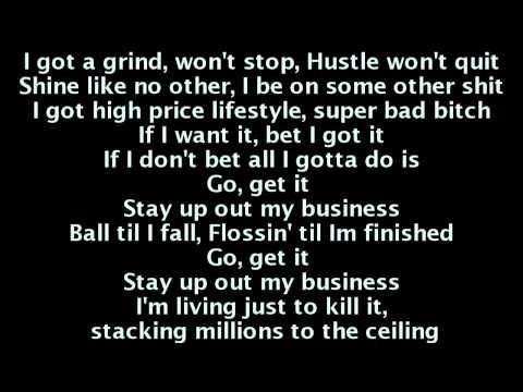 T.I. - Go Get It (Lyrics On Screen)