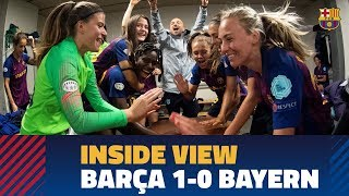 [BEHIND THE SCENES] Into the Women's Champions League final!